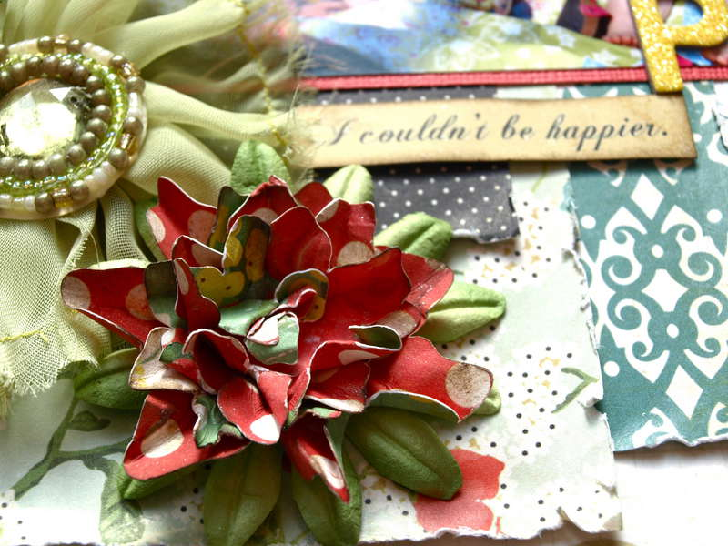 Cricut Picturesque flower tutorial