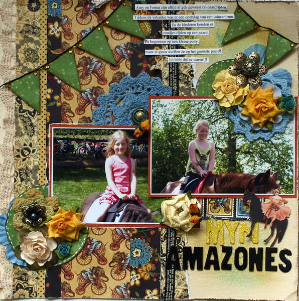 My Amazones **Graphic 45**
