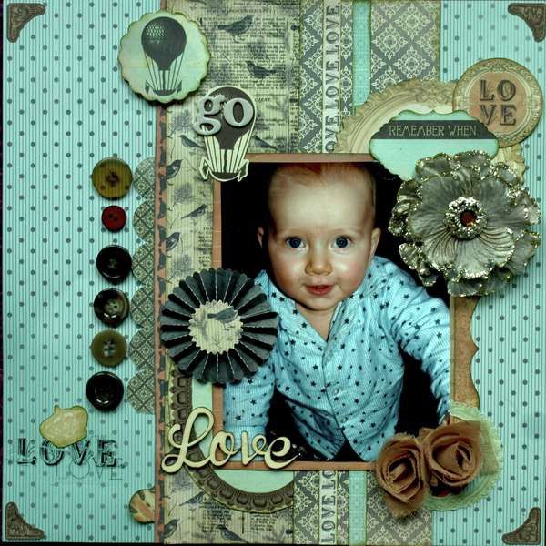 Love *New Periwinkle by Kaisercraft*
