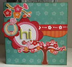 Hi card *My Little Shoebox new!*
