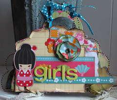 Girls mini album *New My Little Shoebox & Clear Scraps*