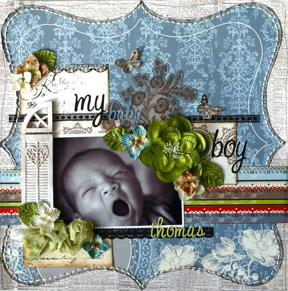 My Baby Boy **My Creative Scrapbook LE Kit**