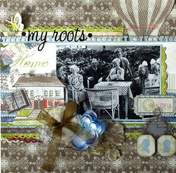 My Roots **My Creative Scrapbook LE Kit**