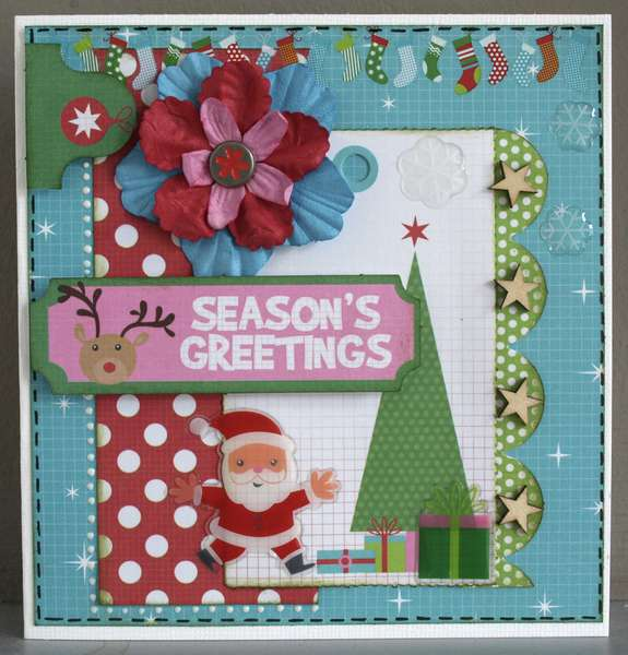Season's Greetings *Mint Twist by Kaisercraft*