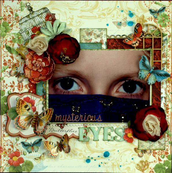 Mysterious Eyes *DCWV*