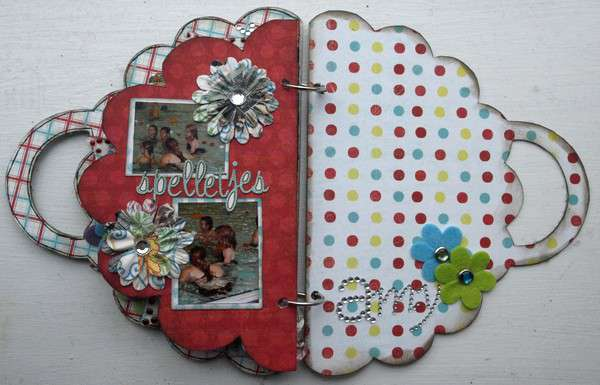 Clear Scraps Mini album *NEW*