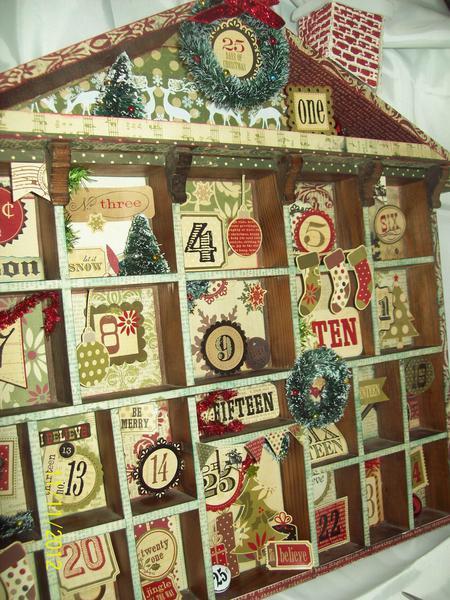 "Christmas Advent Calendar ""Simple Stories 25 Days of Christmas"""