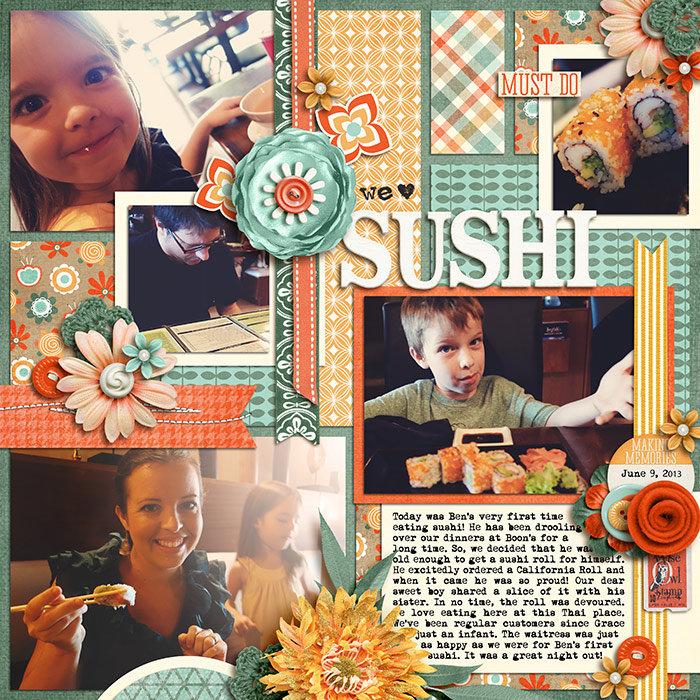 We <3 Sushi