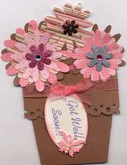 Flower pot card #2