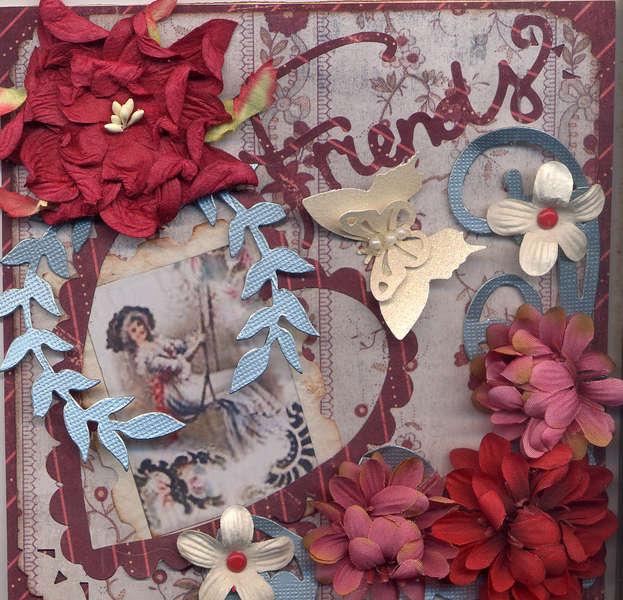 Friends B-day Card