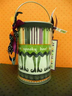 Halloween Paint Can