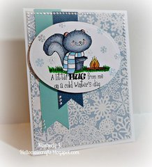 A Squirrely Winter hug