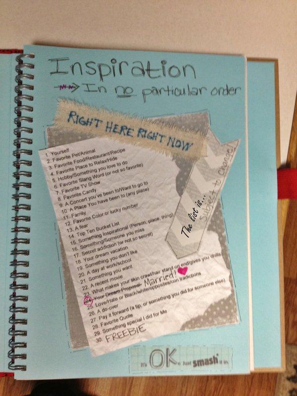 Smash Book Inspiration