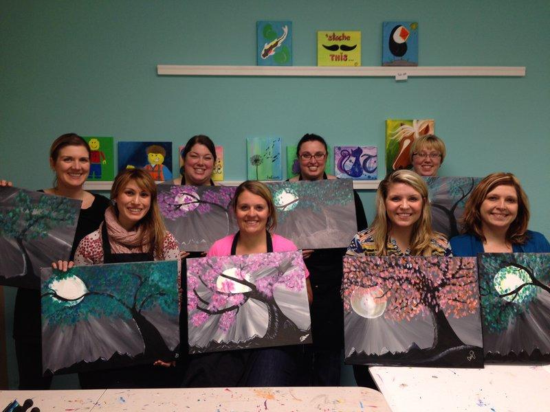 Datz Amore Painting Class