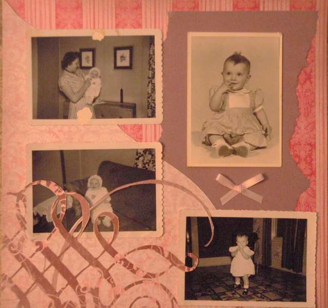 My mother as a baby