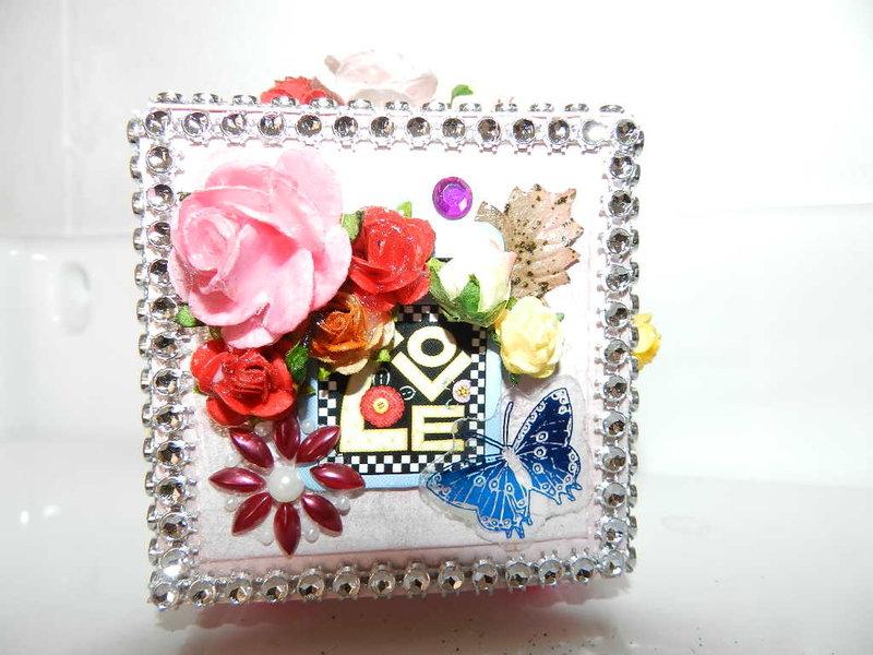 decorative box 2,5 X 2,5 in