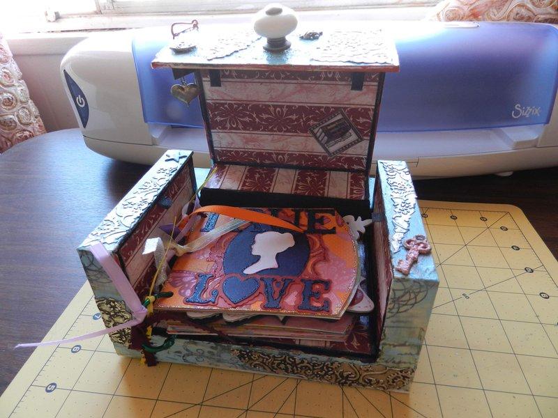 mini album for the altered box