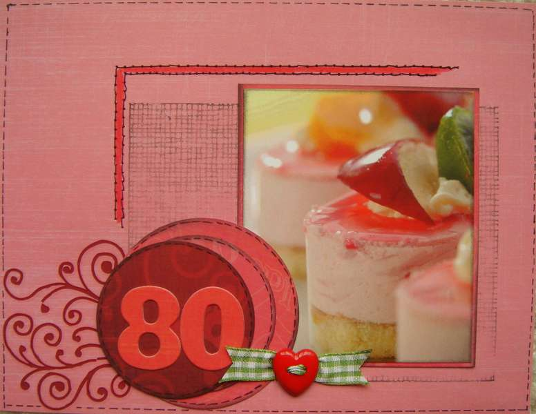 Birthday card -back