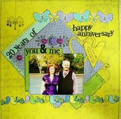 Happy Anniversary - 20 years of YOU and ME