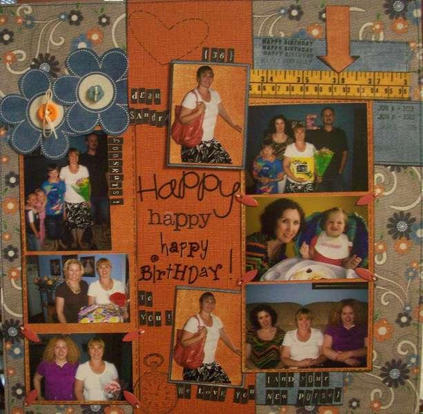 Happy Birthday, sis !