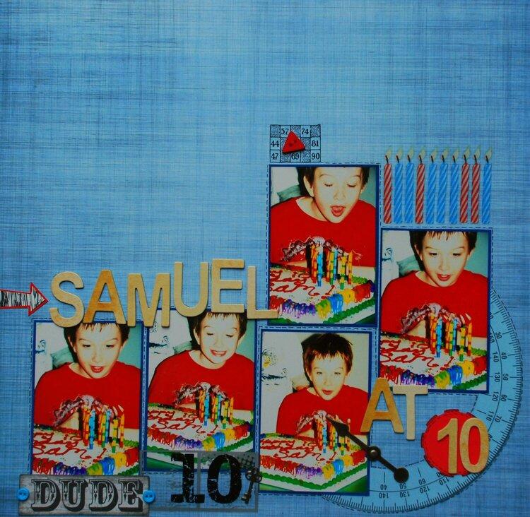 Samuel at 10