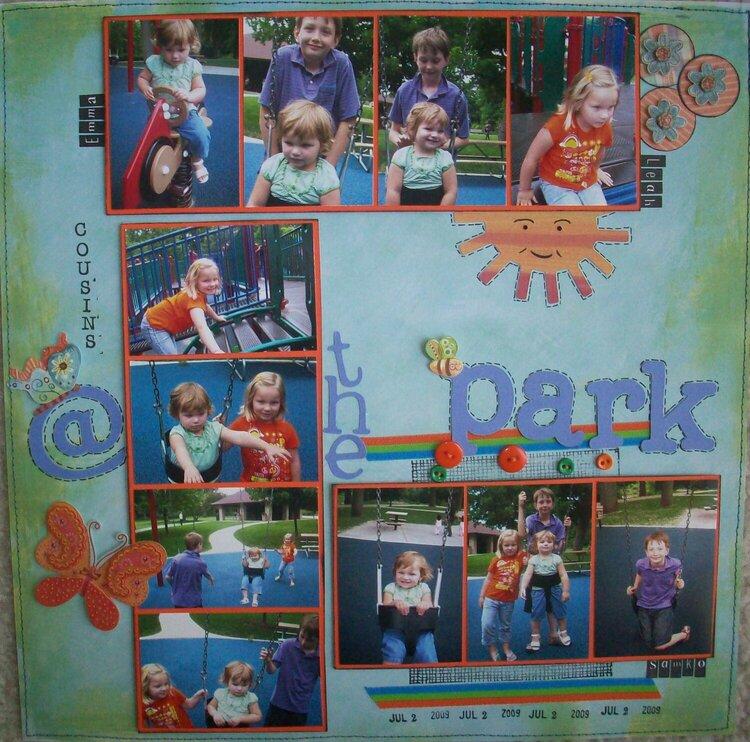 cousins @ the park