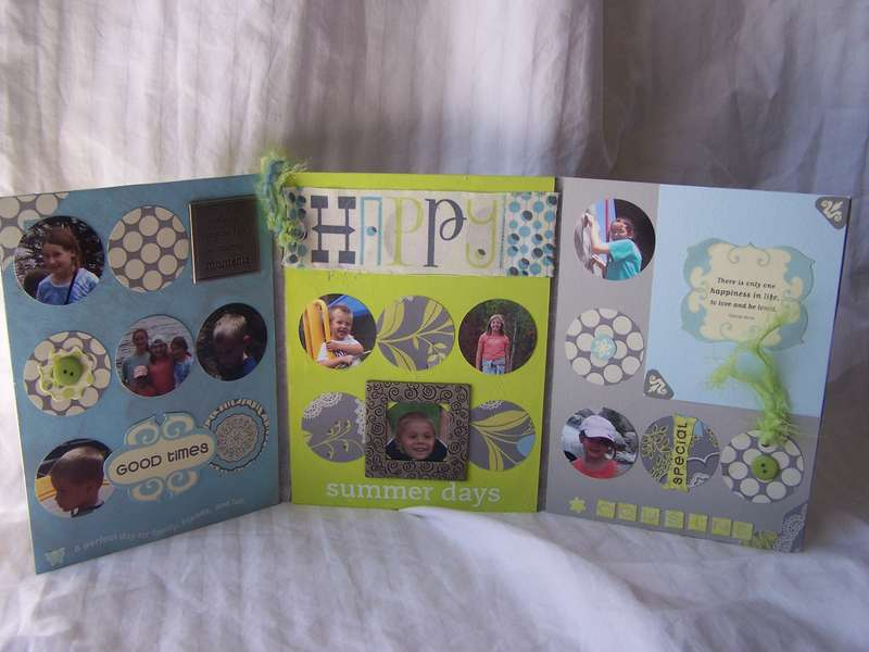 More Than Scrapbooking March Kit Altered Item