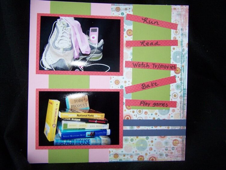More Than Scrapbooking All About Me Book Challenge