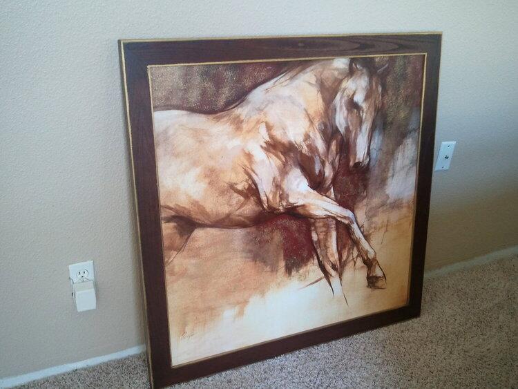 new livingroom art