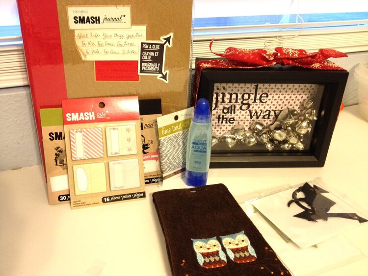 christmas/new years/valentines box goodies from Sheila!