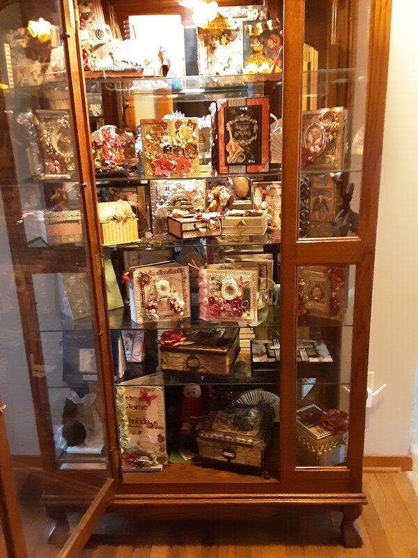 Cabinet full of G45