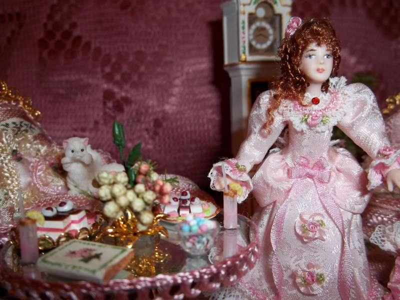 Angela handmade the Doll!