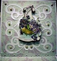 Easter Greetings Easel Card