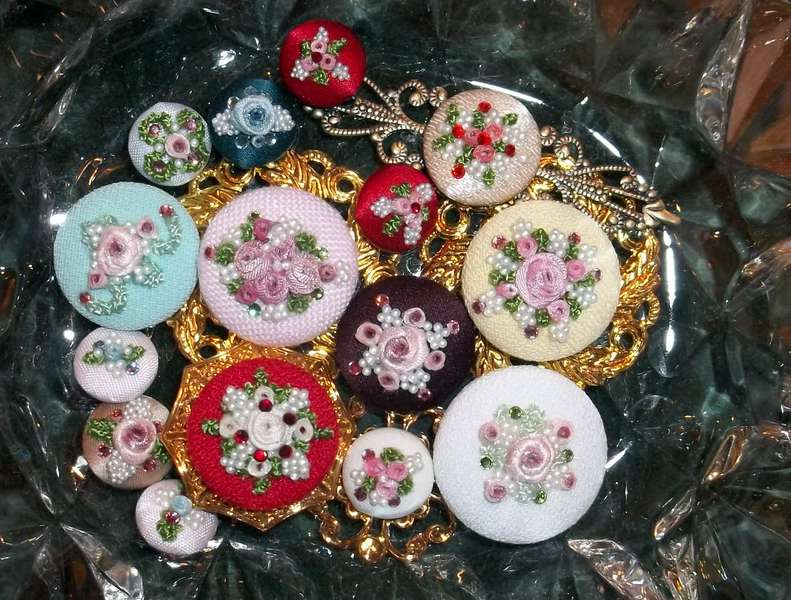 Altered Buttons By Angela Leigh