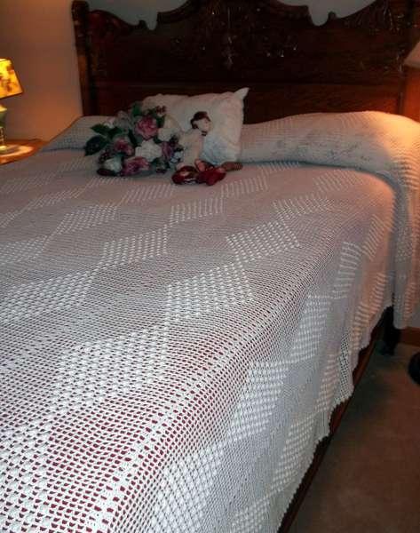 My crocheted Bedspread