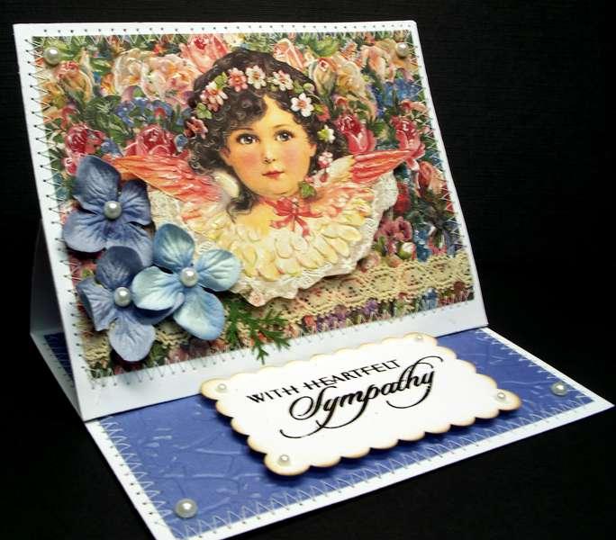 Sympathy Card Angel