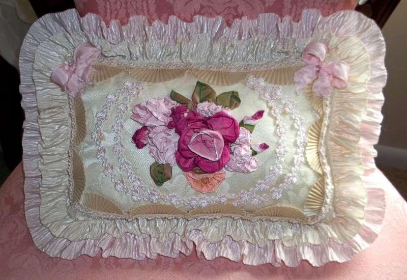 Angela Leigh's Handmade pillow