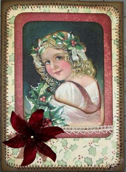 Polish Heritage Christmas Card 3D