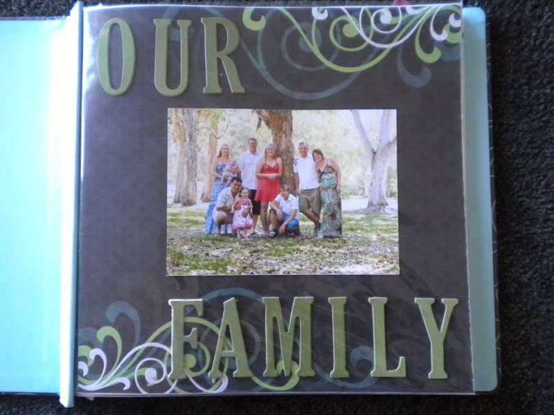 Our Family - Title Page