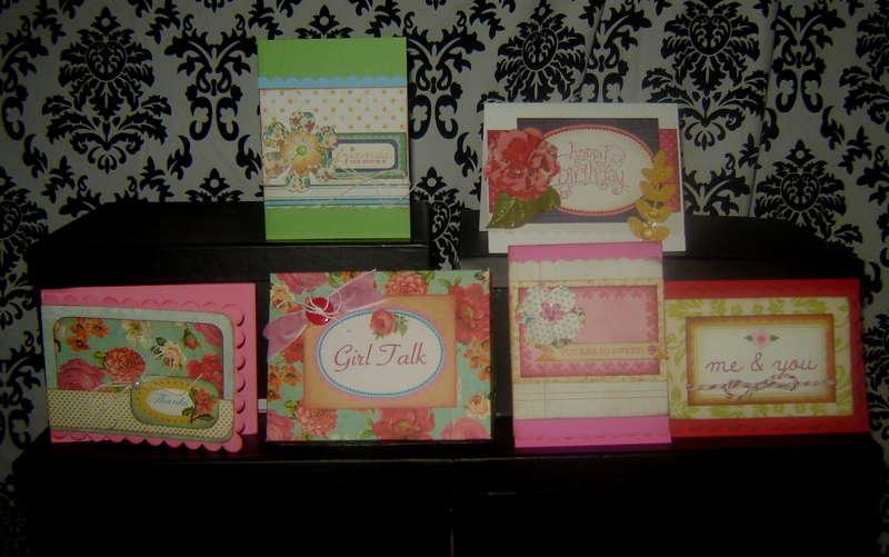 Girlfriend cards