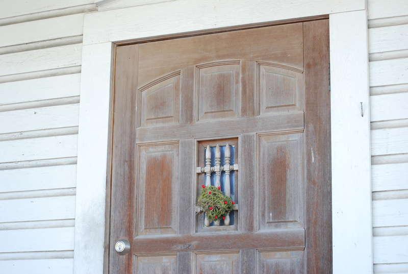 Weathered Door in Key West Florida