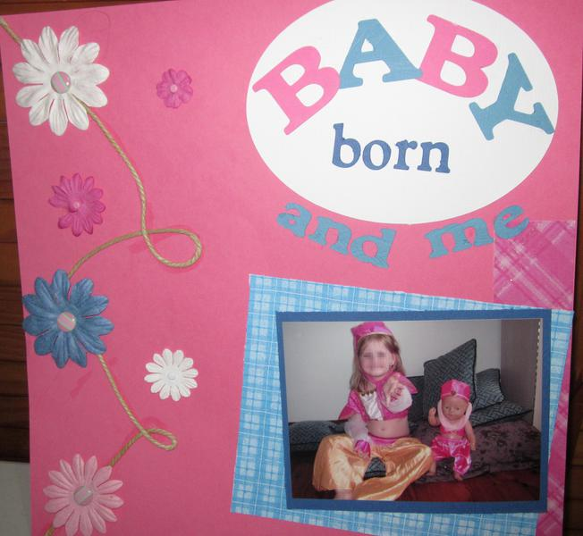 Baby Born and me