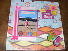 Sweet beach girl