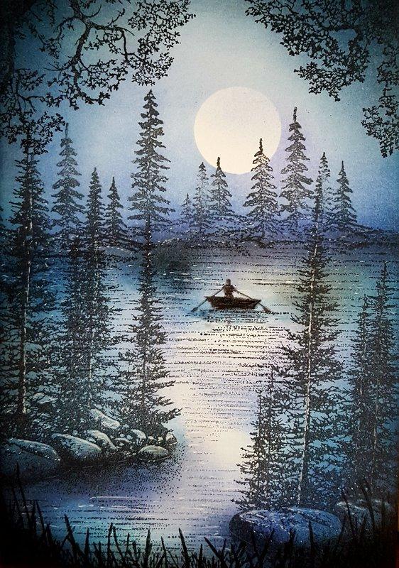 Midnight Boat Ride