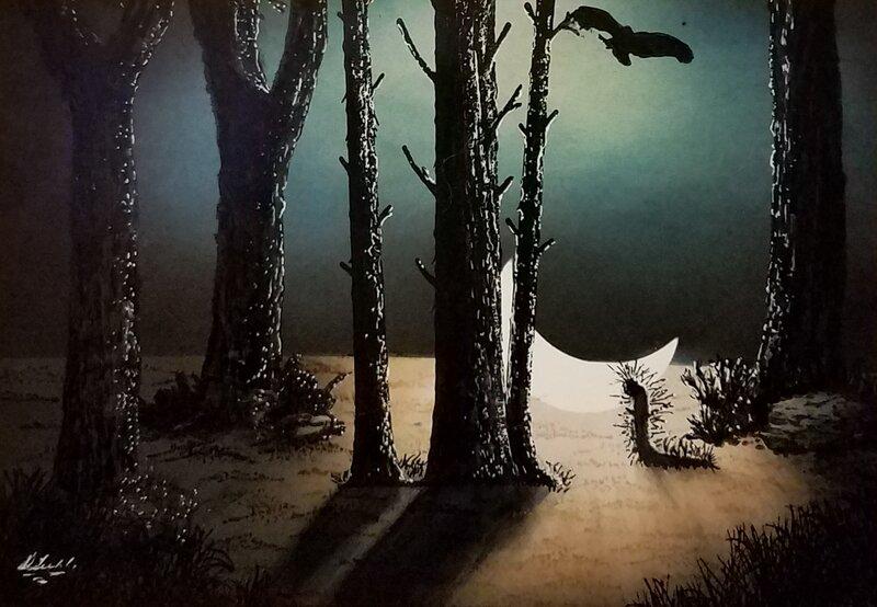 Moonlit...ground????