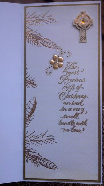 Greatest Gift card (inside)