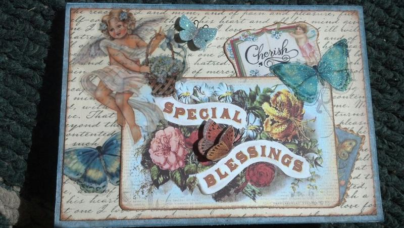 Special Blessings sympathy card