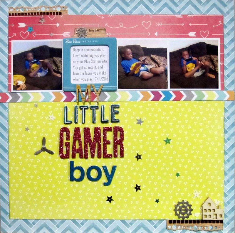 My Little Gamer Boy