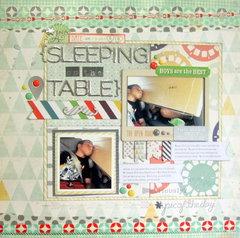 Sleeping on the Table