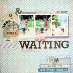 Playfully Waiting